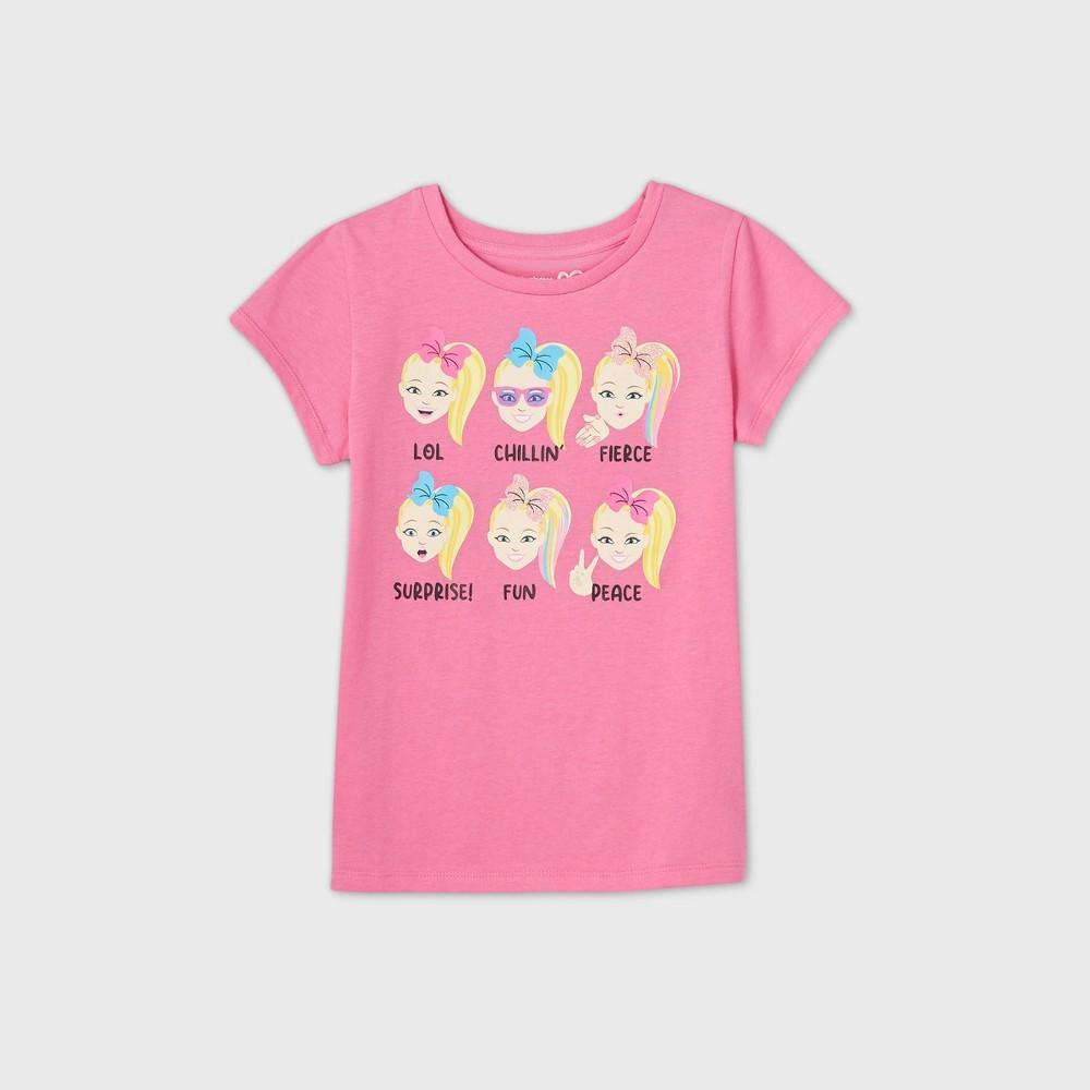 Girls 39 Jojo Siwa Short Sleeve Graphic T Shirt Pink M
