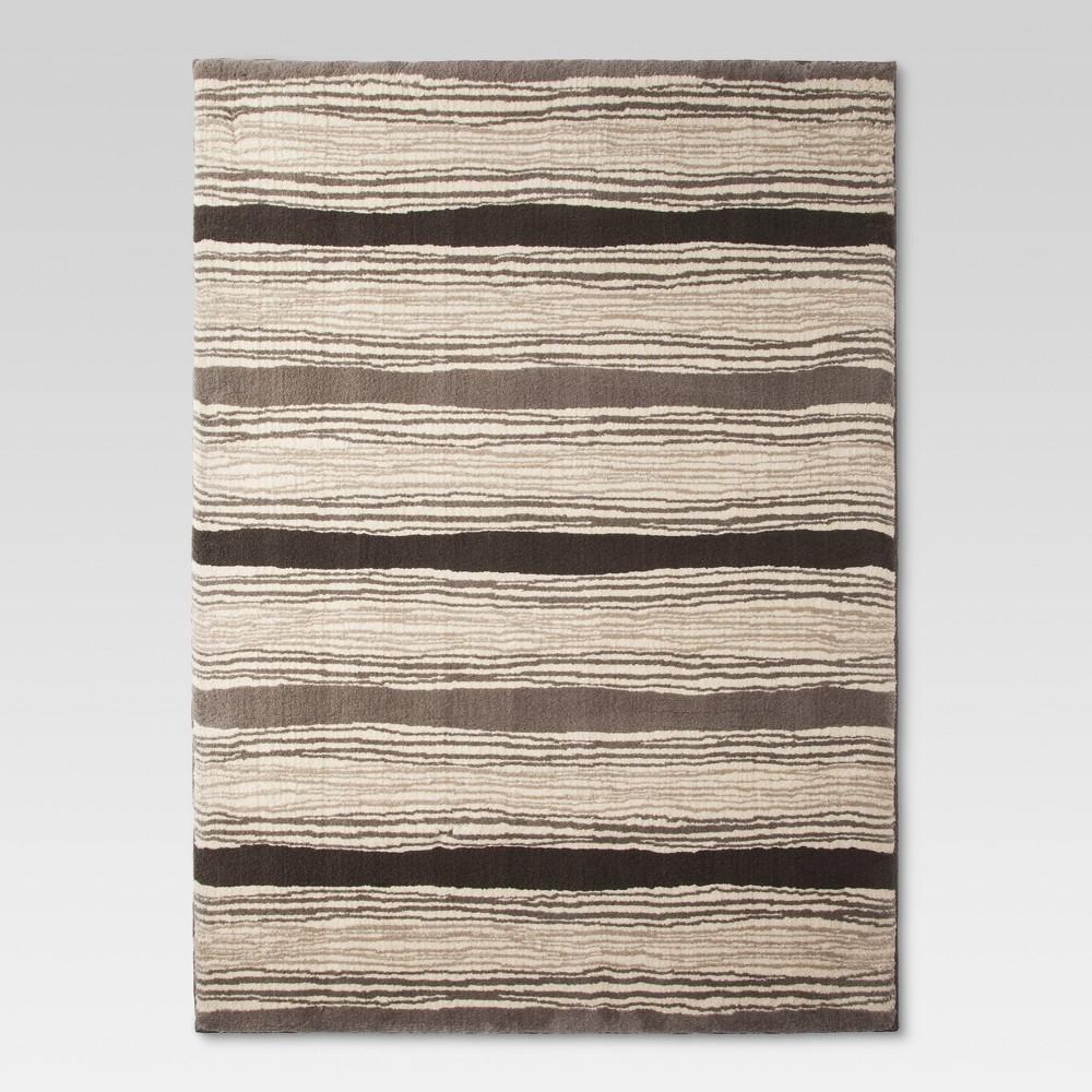 Kantistripe Fleece Area Rug - (6'5