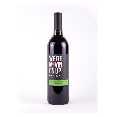 Love Cork Screw We're Movin on Up Cabernet Sauvignon Red Wine - 750ml Bottle