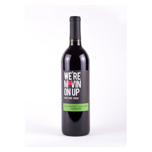 Love Cork Screw We're Movin on Up Cabernet Sauvignon Red Wine - 750ml Bottle - image 1 of 1