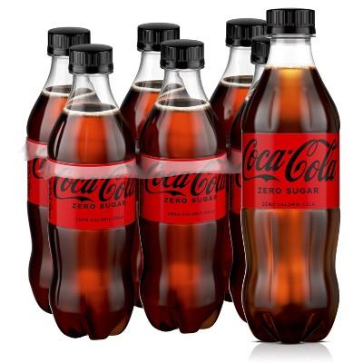 Coca-Cola Zero Sugar - 6pk/16.9 fl oz Bottles