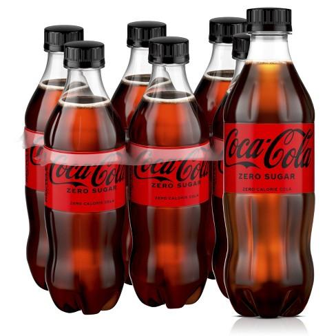 Coca-Cola Zero Sugar - 6pk/16.9 fl oz Bottles - image 1 of 4