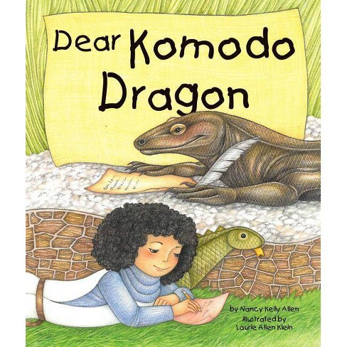 Dear Komodo Dragon - by  Nancy Kelly Allen (Hardcover) - image 1 of 1