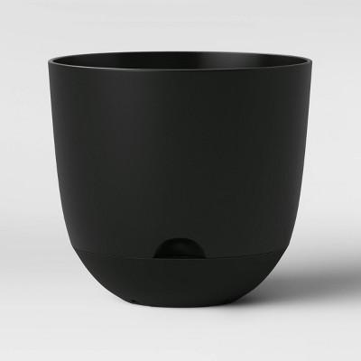 16  Self Watering Planter Black - Room Essentials™
