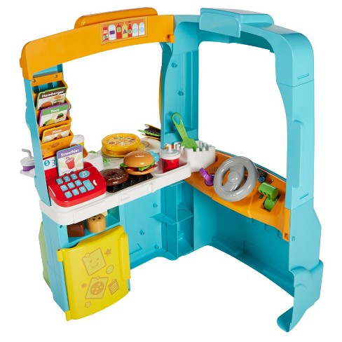 Fisher-Price Laugh and Learn Servin' Up Fun Food Truck - image 1 of 4