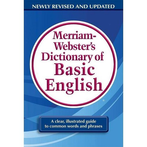 Merriam-Webster's Dictionary of Basic English - (Paperback) - image 1 of 1