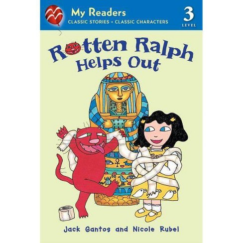 Rotten Ralph Helps Out - (My Readers - Level 3 (Quality)) by  Jack Gantos (Paperback) - image 1 of 1
