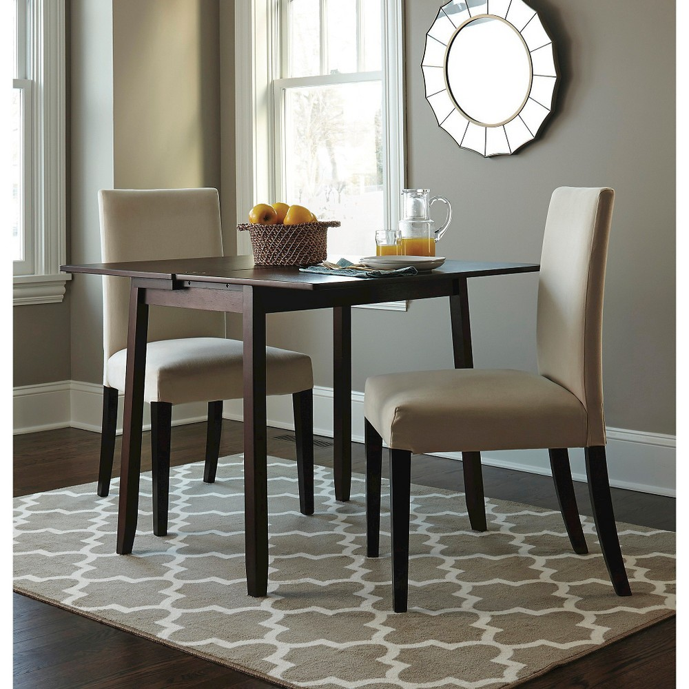 Dining Table with Storage - Threshold, Brown