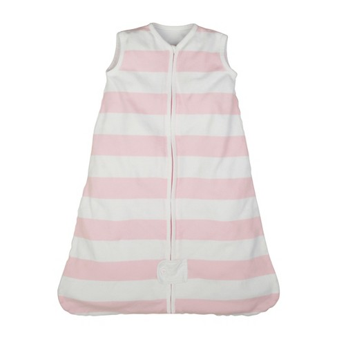 Burt's Bees Baby® Beekeeper™ Wearable Blanket Organic Cotton - Rugby Stripes - Pink - image 1 of 3