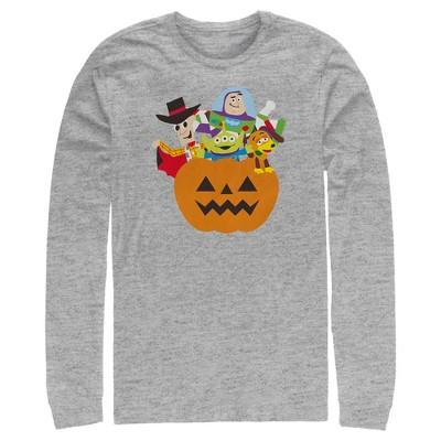 Men's Toy Story Halloween Toy Treats Long Sleeve Shirt