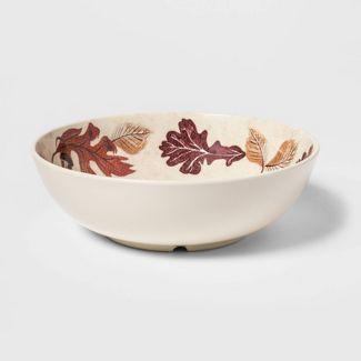 33oz Melamine Fall Leaves Dining Bowl - Threshold™