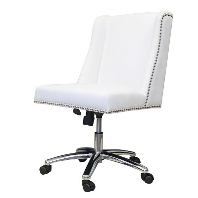Decorative Task Chair - White - Boss