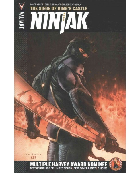 Ninjak 4 : The Siege of King's Castle (Paperback) (Matt Kindt) - image 1 of 1