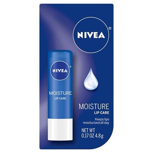 NIVEA Moisture Lip Care Unisex Balm Stick - .17oz - image 1 of 3