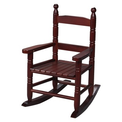 Gift Mark Slat Rocking Chair - Cherry
