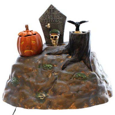 Dept 56 Accessories Animated Skulls Halloween Village  -  Decorative Figurines