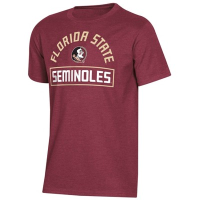 NCAA Florida State Seminoles Boys' Short Sleeve Crew Neck T-Shirt