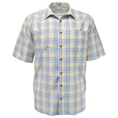 Foxfire Men's Big & Tall White Ground Button Front Sport Shirt