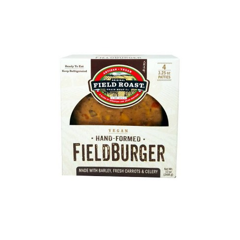Field Roast Vegan Field Burger - 4pk/13oz - image 1 of 4