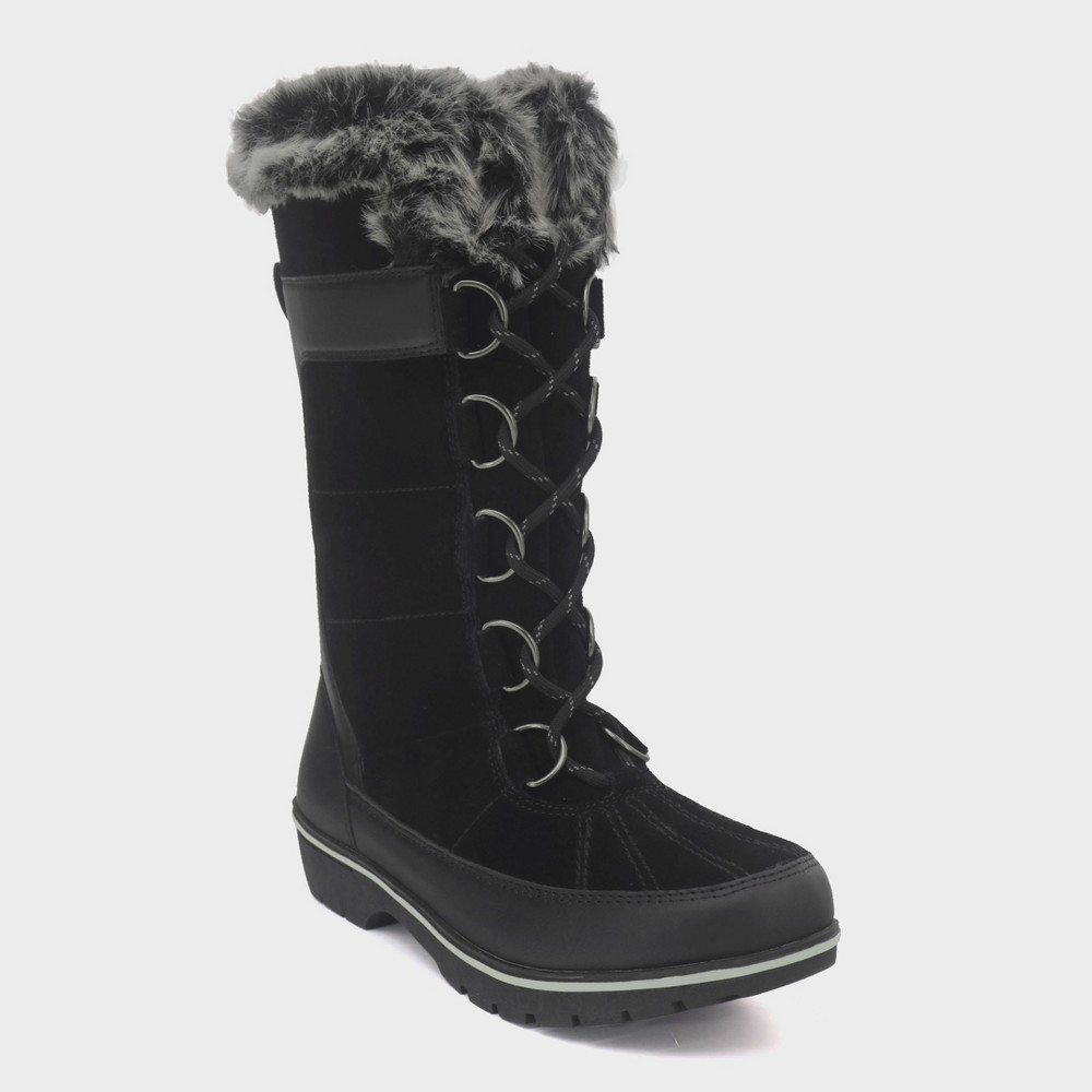 Women's Ruthie Tall Functional Winter Boots - C9 Champion Black 5