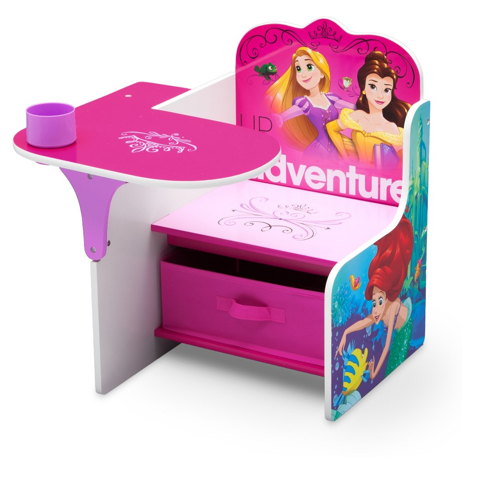 Image of Disney Princess Chair Desk with Storage Bin