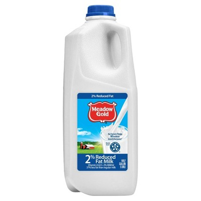 Meadow Gold 2% Milk - 0.5gal