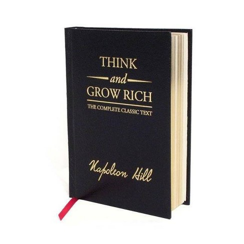 Think and Grow Rich Deluxe Edition - by  Napoleon Hill (Hardcover) - image 1 of 1