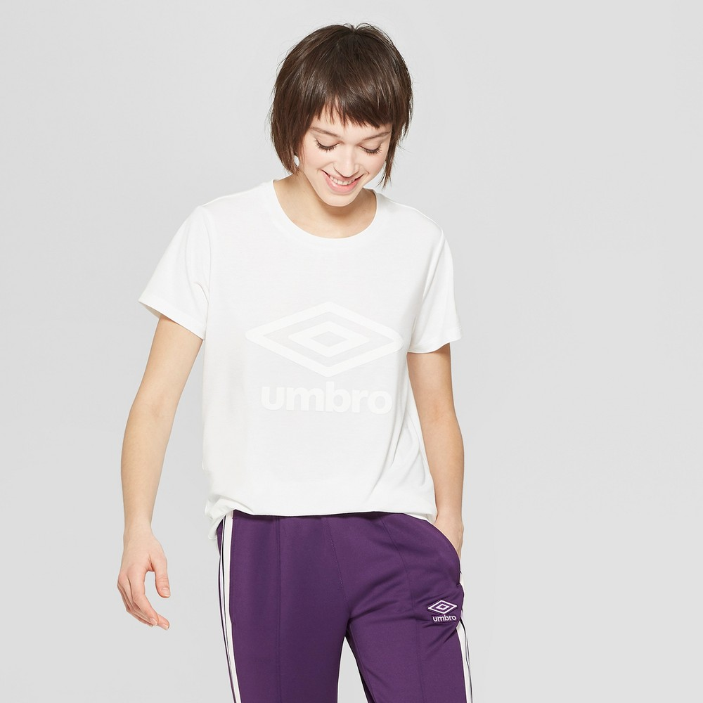 Umbro Women's Short Sleeve T-Shirt White XL