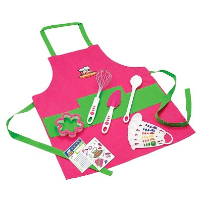 Curious Chef 11pc Girl's Chef Kit