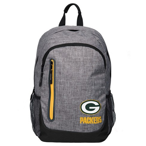 NFL Green Bay Packers Forever Collectibles - Heather Grey Bold Color Backpack - image 1 of 3