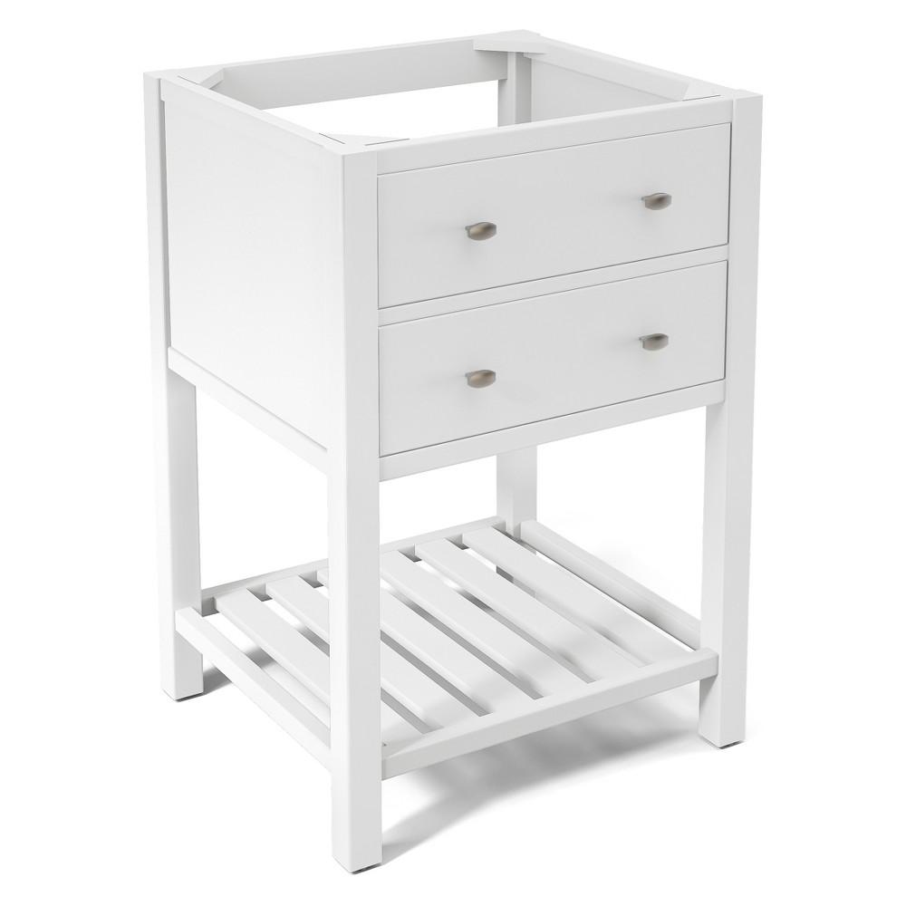 Harisson Bath Vanity Cabinet White 23 - Alaterre Furniture