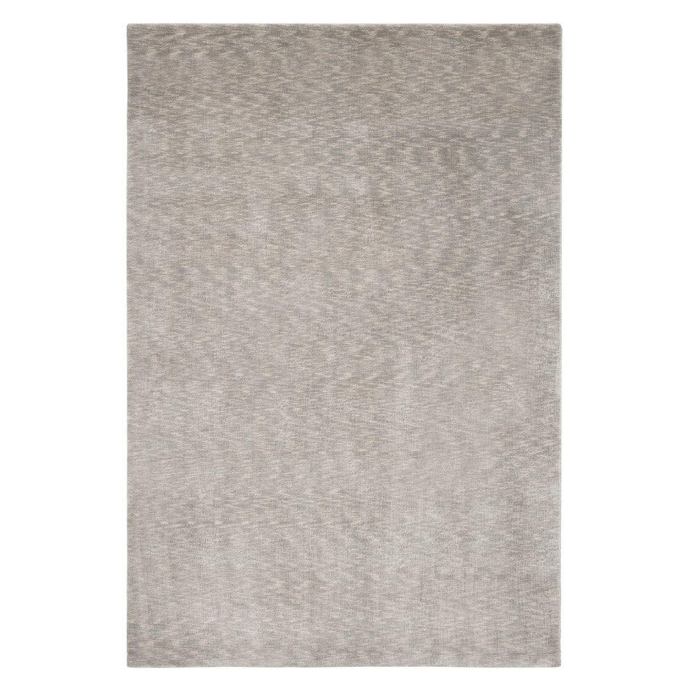 8'X10' Solid Area Rug Silver/Gray - Safavieh