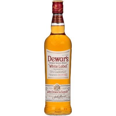 Dewar's White Label Blended Scotch Whisky - 750ml Bottle