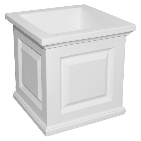 "Nantucket Patio Square Planter 16"" x 16"" - image 1 of 2"