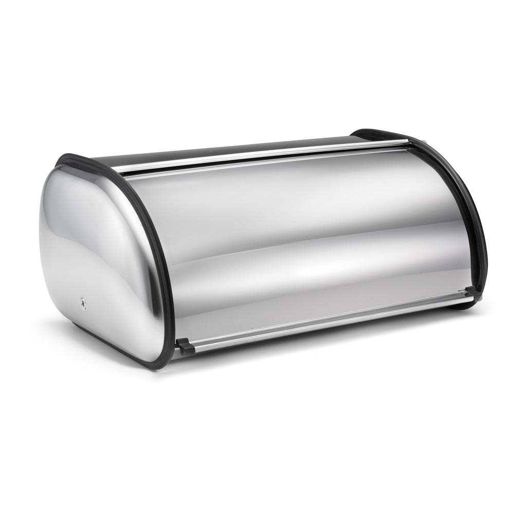 Polder Deluxe Stainless Steel (Silver) Bread Bin