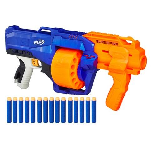 nerf n strike elite surgefire blaster target