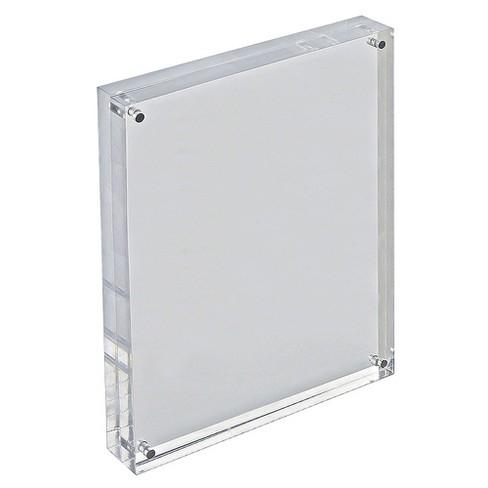 Azar 85 X 11 Verticalhorizontal Acrylic Block Frame Target