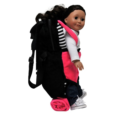 70119ee3ae7f The Queen s Treasures Child Size Pink   Black Backpack with 18