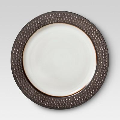 Round Salad PlateBarnet Bronze 8.1 x8.1  Set of 4 - Threshold™