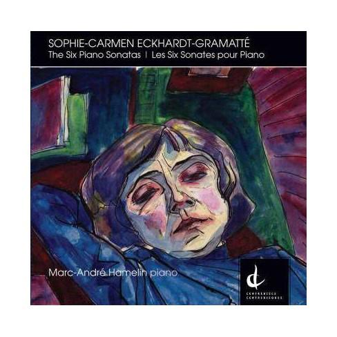 Marc-Andre Hamelin - Eckhardt-Gramatte: Six Piano Sonatas (CD) - image 1 of 1