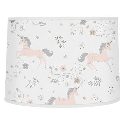 Sweet Jojo Designs Lampshade - Unicorn - Gray