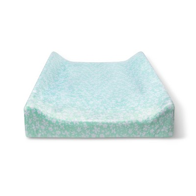 Changing Pad Cover Mint Ditsy - Cloud Island™ Blue Floral