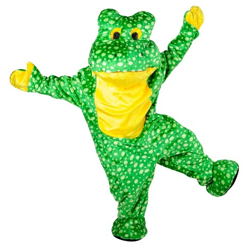 Men's Deluxe Plush Frog Mascot Adult Costume One Size Fits Most - image 1 of 1