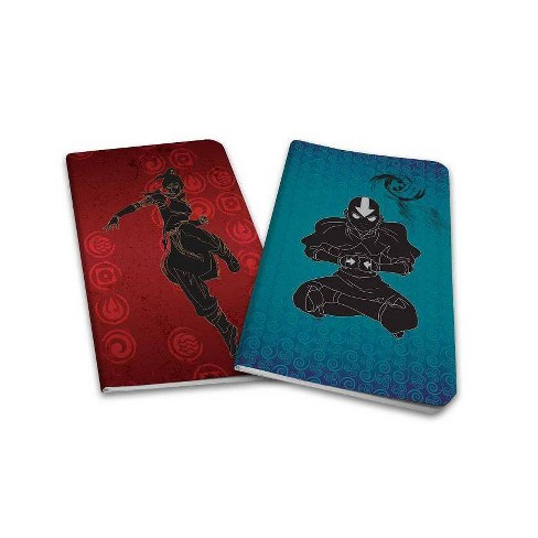 Avatar the Last Airbender / Legend of Korra Notebook Collection (Set of 2) - by  Insight Editions - image 1 of 1