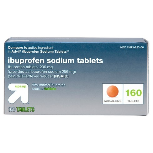 Ibuprofen (NSAID) Pain Reliever & Fever Reducer Tablets - Up&Up™ - image 1 of 1