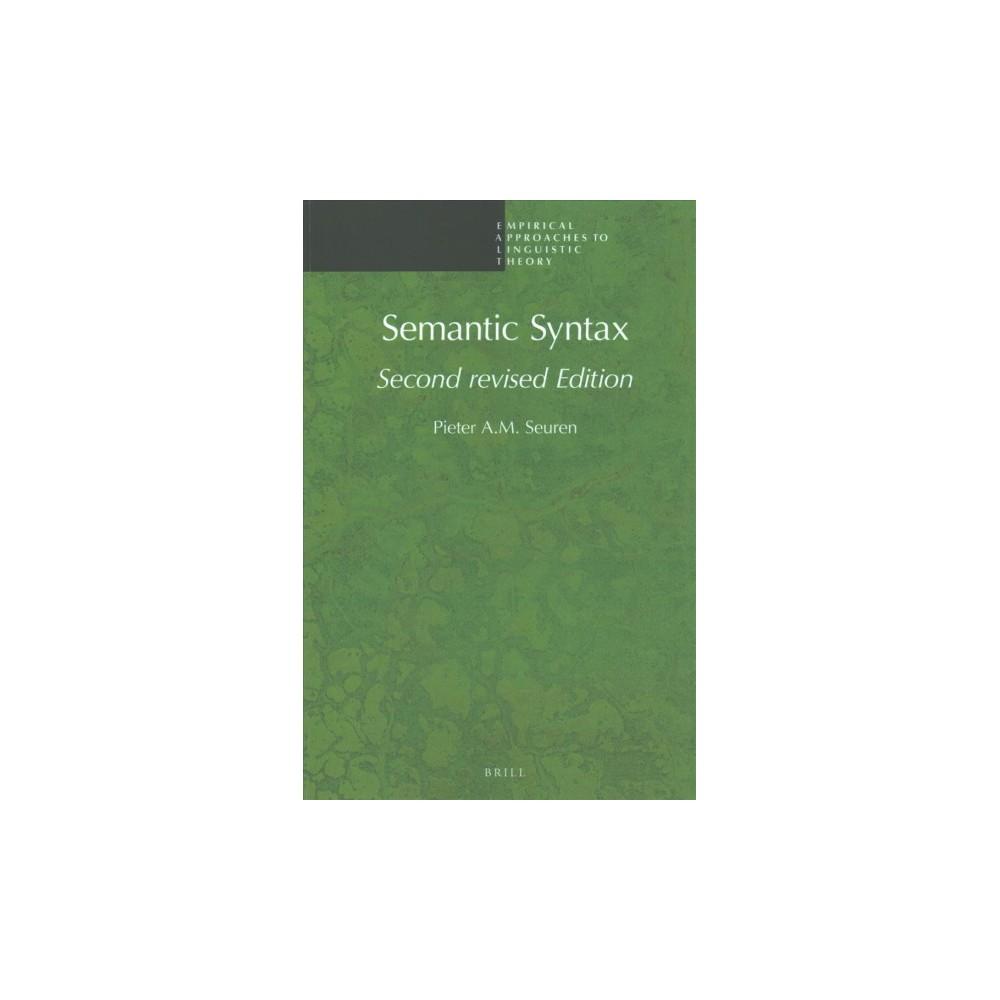 Semantic Syntax (Paperback) (Pieter A. M. Seuren)