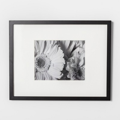 Wide Gallery Matted Frame Black 11 x14  - Made By Design™