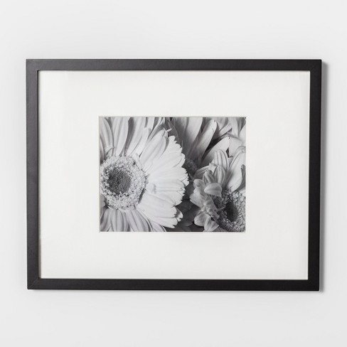 "Wide Gallery Matted Frame Black 11""x14"" - Made By Design™ - image 1 of 2"