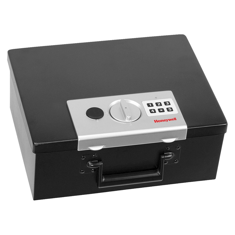 Image of 0.26 Cu. Ft. Fire Resistant Digital Steel Security Box