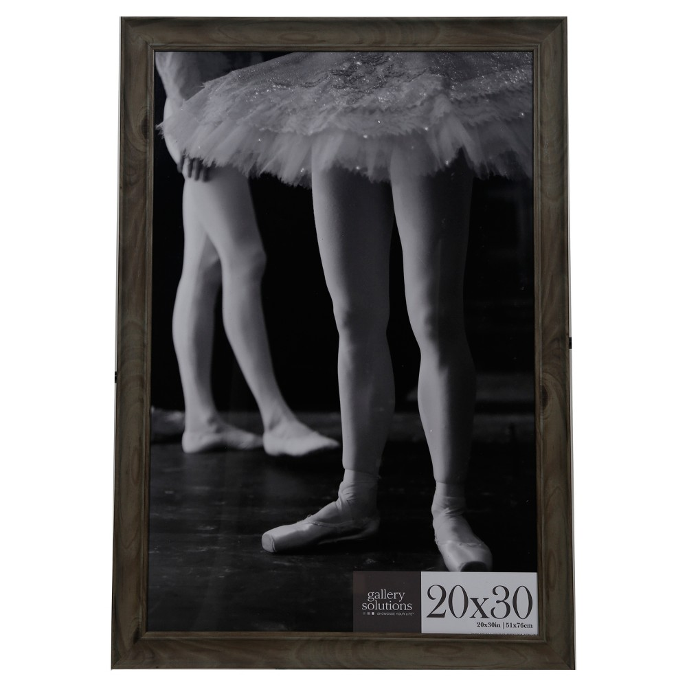 Image of 20X30 Greywash Large Wall Frame - Gallery Perfect, Grey